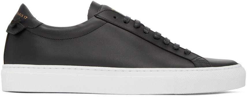 GivenchyBlackUrbanKnotsSneakers