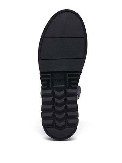 FendiFacesCalfLeatherHighTopSneakers