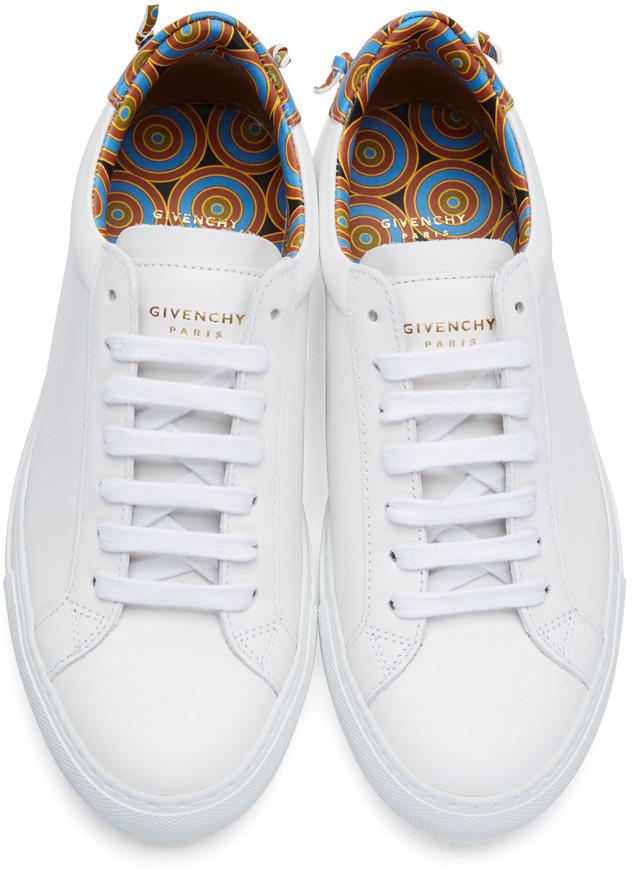 GivenchyWhiteUrbanKnotsSneakers