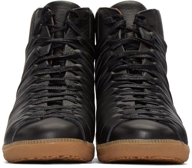 DamirDomaBlackFolletHighTopSneakers