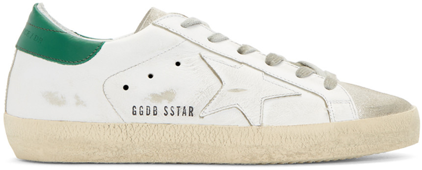 GoldenGooseWhiteSuperstarSneakers