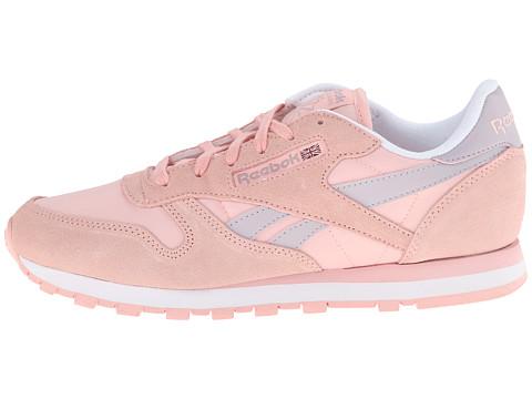 reebok classic leather seasonal patina pink