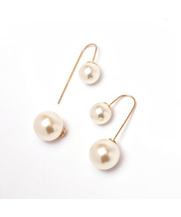 PeermontGoldPearlDropEarrings
