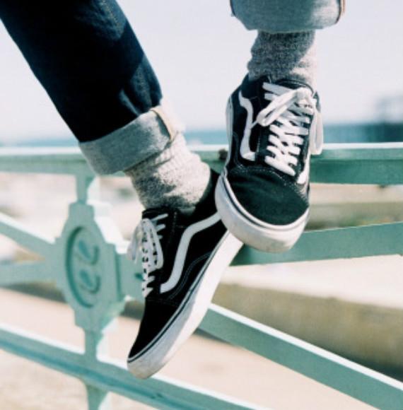 Vans男式Old Skool滑板鞋