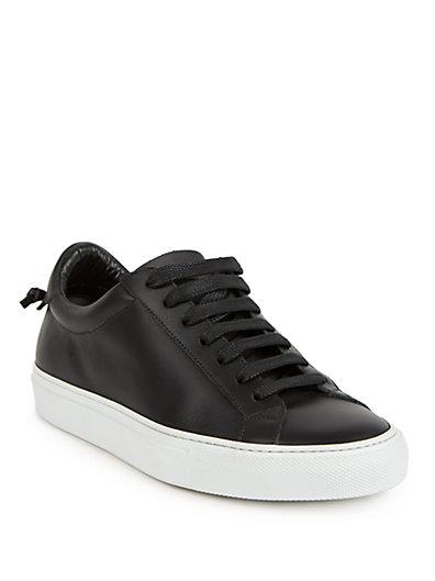 纪梵希Givenchy皮质系带运动鞋