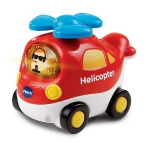 伟易达VTech出发吧!智能直升机动感小车玩具