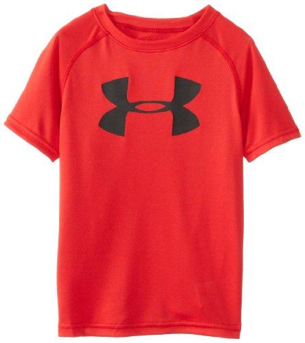 安德玛Under Armour男孩款Big Logo短袖T恤