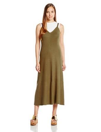 snidel 无袖针织长款连衣裙