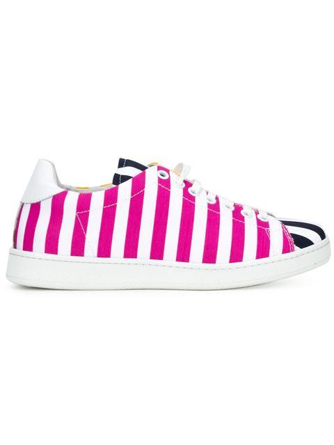 Joshua Sanders 条纹拼接板鞋(女款)