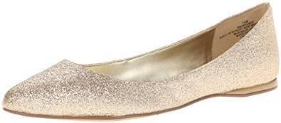 玖熙Nine West女式芭蕾平底鞋
