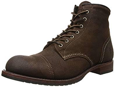 FRYE男式Logan开普托鞋靴子