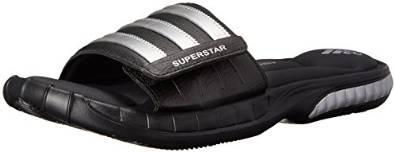 阿迪达斯adidas男式Superstar 3G气垫一字拖鞋