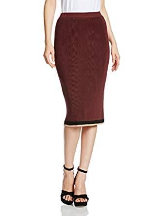 莉莉布朗Lily Brown 下摆线条装饰紧身半身裙