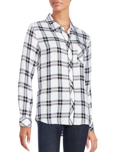 Rails Hunter格子长袖衬衫