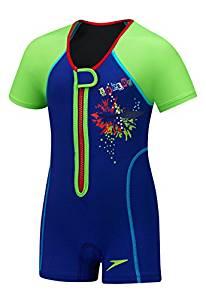 Speedo儿童款UPF 50+ Begin to游泳保暖泳衣