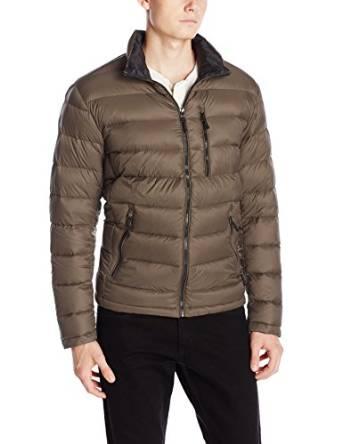 卡尔文克莱恩Calvin Klein ( CK )卡文克莱男士轻量型保暖羽绒服