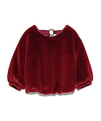 莉莉布朗Lily Brown酒红色毛衣