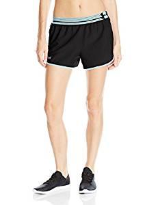 安德玛Under Armour女式UA Perfect Pace Short跑步短裤