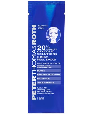彼得罗夫Peter Thomas Roth 20% Glycolic Solutions Jumbo Peel Swab
