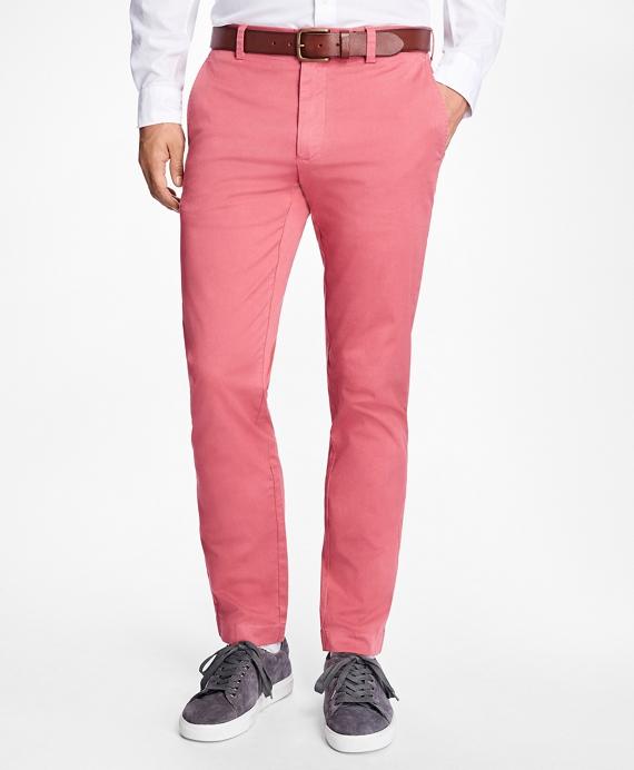 布克兄弟Brooks Brothers轻弹力斜纹棉布裤(男款)