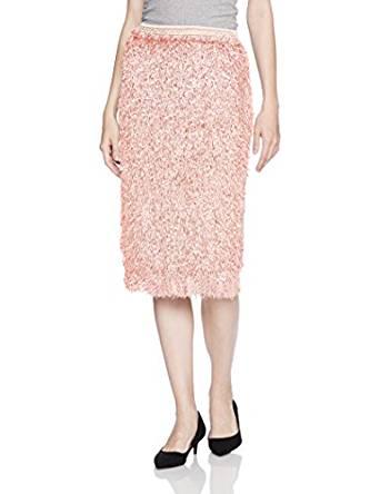 莉莉布朗(リリーブラウン)Lily Brown フラッグフェザースカート