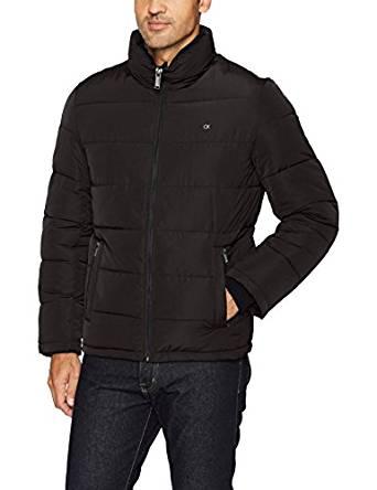 卡尔文克莱恩Calvin Klein男式Altervative羽绒Pufffer外套
