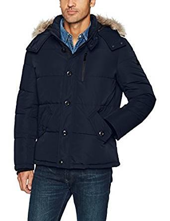 卡尔文克莱恩Calvin Klein男式Alternative羽绒风雪大衣外套