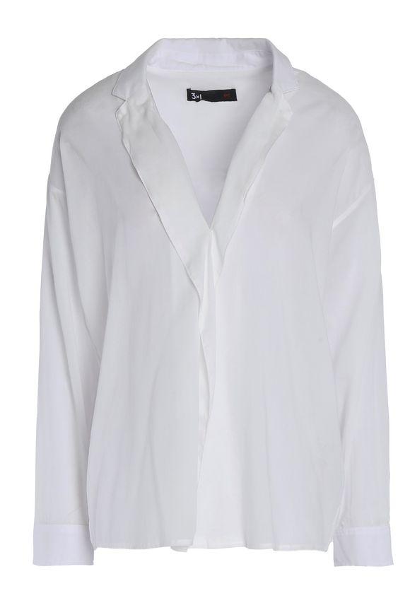 3x1棉混纺绒面呢衬衣