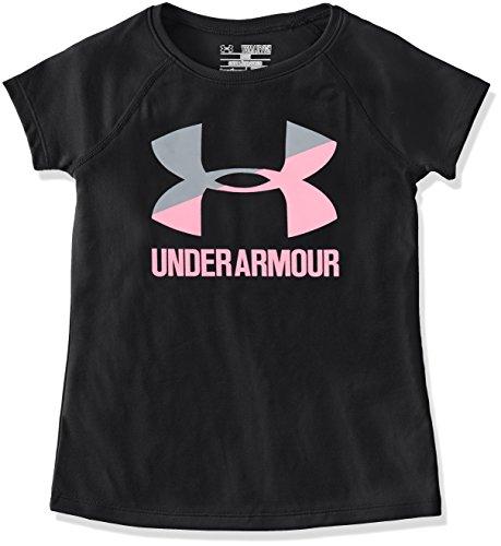 安德玛Under Armour女孩款Big Logo短袖T恤