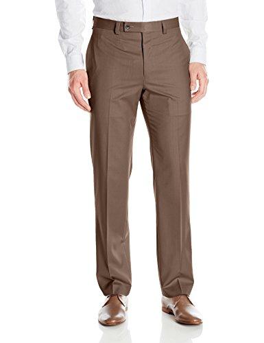 卡尔文克莱恩Calvin Klein男式现代Fit Performance平身无褶正装西裤