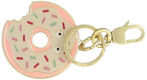 化石Fossil Donut钥匙链钥匙环Gold