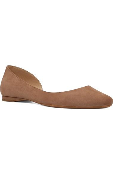 玖熙Nine West Spruce晚装款式凉鞋Flat (女式)