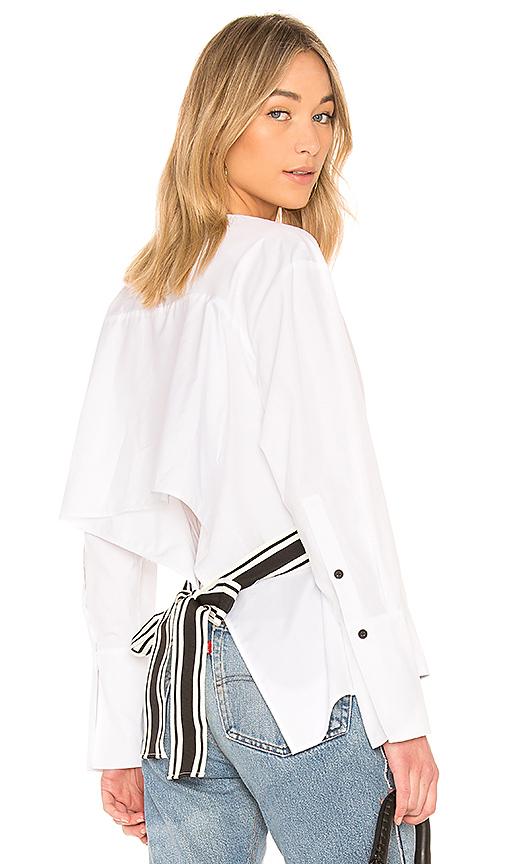 黛安·冯芙丝汀宝Diane von Furstenberg CROSS OVER系带女衬衫(女款)