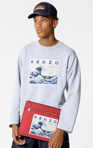 高田贤三Kenzo Memento Collection 'Kanagawa Wave'运动衫