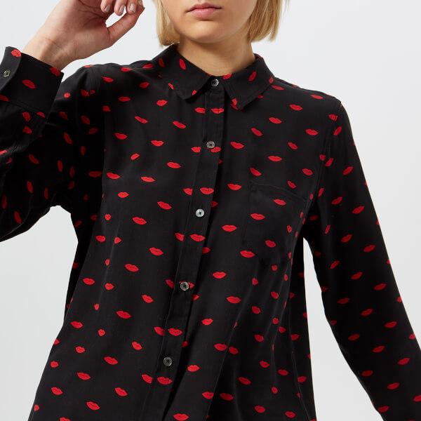 Rails女式Kate Lips衬衣-黑色