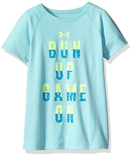 安德玛Under Armour女孩款Bun Up Game On短袖T恤