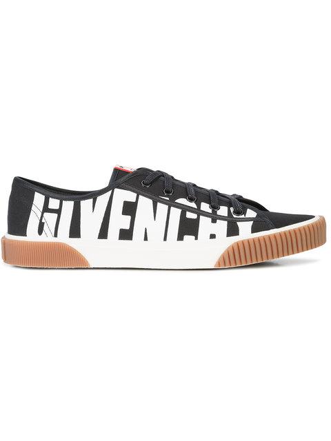 纪梵希Givenchy Boxing logo印花牛皮板鞋(女款)