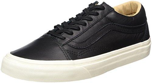 范斯Vans中性款Adults' Old Skool皮质运动鞋