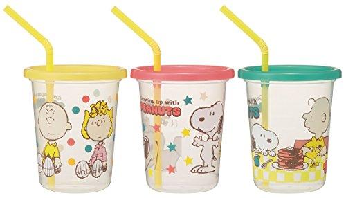 斯凯达SKATER斯凯达 Snoopy 儿童随手吸管杯 3个装