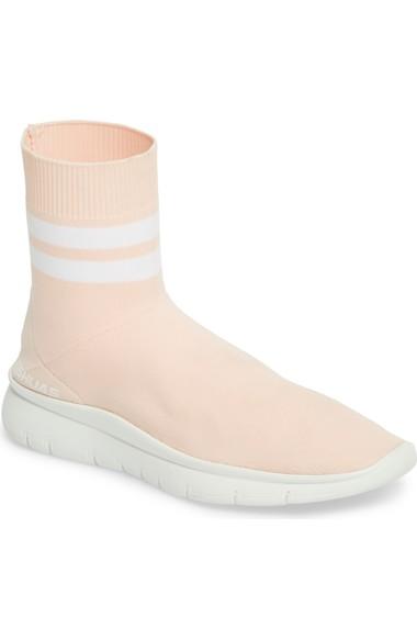 JOSHUA SANDERS Jump高帮袜子运动鞋(女式)