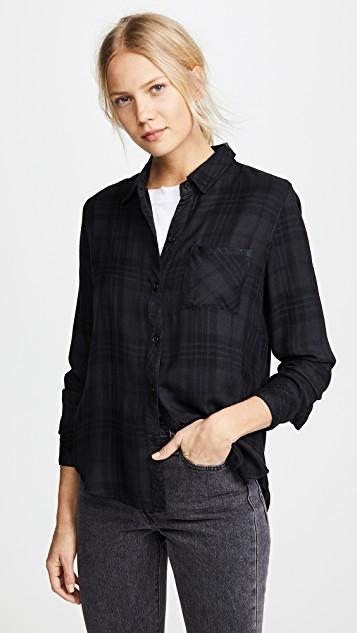 RAILS Hunter系扣衬衫