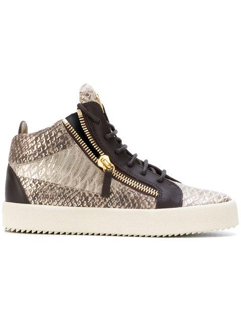 朱塞佩·萨诺第Giuseppe Zanotti Design Kriss高帮板鞋(女款)