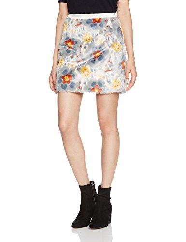 莉莉布朗(リリーブラウン)Lily Brown ジャガードファー台形スカート
