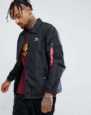 阿尔法Alpha Industries Coach TT外套黑色(男款)