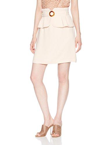 莉莉布朗[リリーブラウン] ぺプラムベルト付スカート レディース LWFS182078