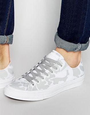 匡威Converse Chuck Taylor All星星II运动鞋白色151160C (男款)