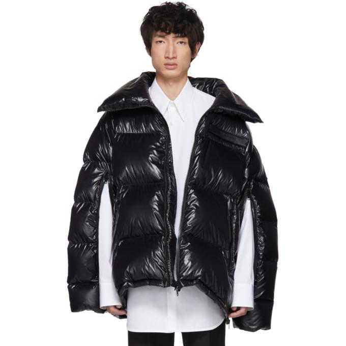 卡尔文克莱恩Calvin Klein 205W39NYC黑色羽绒超大外套