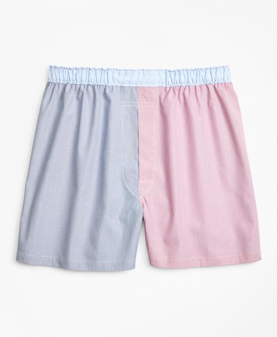 布克兄弟Brooks Brothers传统Fit Fun细缝条纹四角内裤(男款)