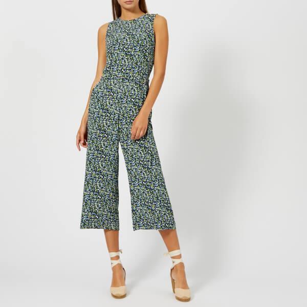 迈克·科尔斯MICHAEL MICHAEL KORS女式Tiny Wild花朵连身衣裤- Multi