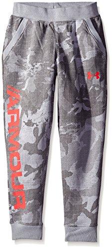 安德玛Under Armour男孩款Titan羊毛印花运动束脚裤